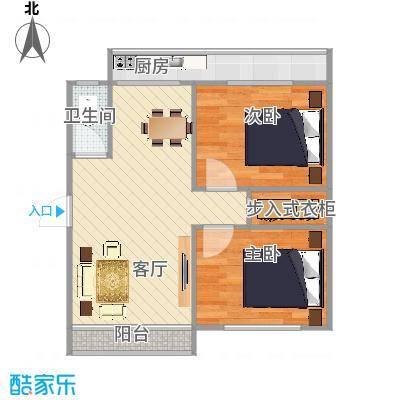 2室100平