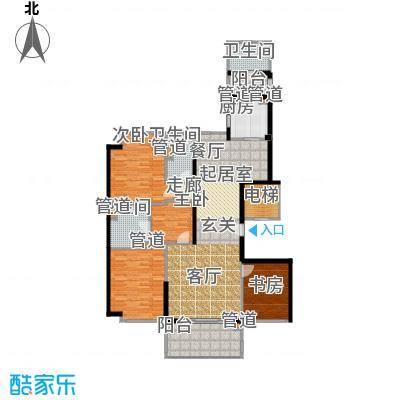 经典茂名公寓180.00㎡房型户型