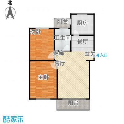 金磊苑92.89㎡房型户型