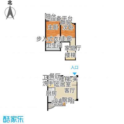 虹桥中洋公寓121.00㎡房型复式户型