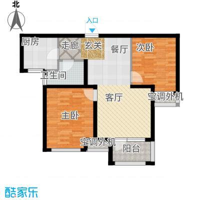 荣盛白鹭岛5号楼B户型
