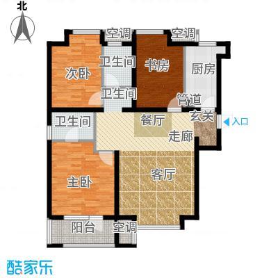 荣盛白鹭岛109.27㎡5号楼C户型