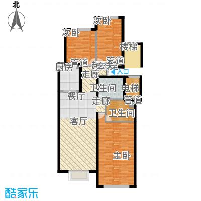 北京城建·世华龙樾140.00㎡北京城建・世华龙樾二期5#楼C户型
