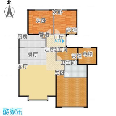 北京城建·世华龙樾110.00㎡北京城建・世华龙樾一期D户型