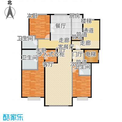 北京城建·世华龙樾175.00㎡北京城建・世华龙樾二期J户型