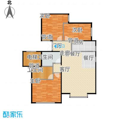 北京城建·世华龙樾115.00㎡北京城建・世华龙樾二期E户型