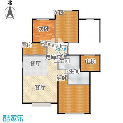 北京城建·世华龙樾105.00㎡北京城建・世华龙樾一期A户型