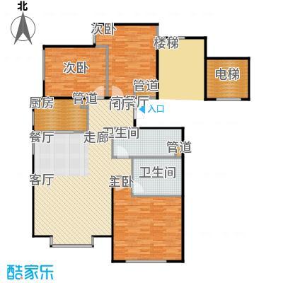 北京城建·世华龙樾115.00㎡北京城建・世华龙樾一期H户型