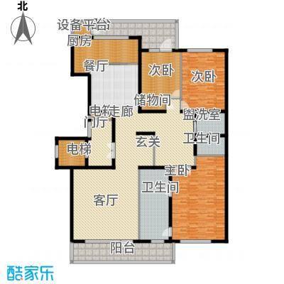五矿万科如园230.00㎡北区11#楼D户型