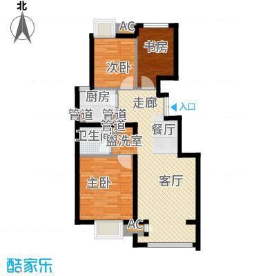 中国铁建·原香漫谷88.00㎡中国铁建・原香漫谷四期C3-1户型