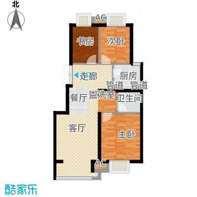 中国铁建·原香漫谷88.00㎡中国铁建・原香漫谷三期C1-2户型
