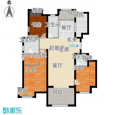 中铁花溪渡165.00㎡3期K户型