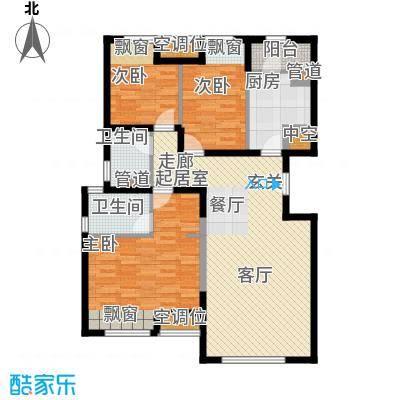 中铁花溪渡129.00㎡C(售罄)户型