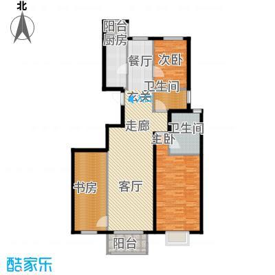 上林溪南区114.00㎡二期C3(售罄)户型