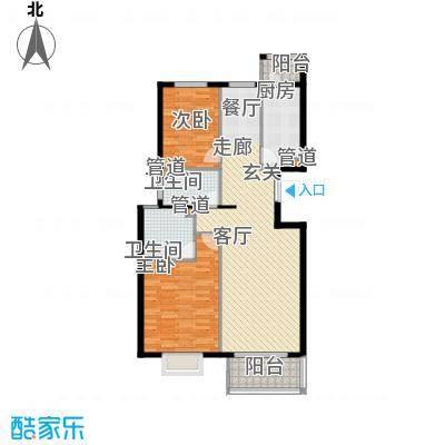 上林溪南区102.00㎡一期30号楼B3(售罄)户型
