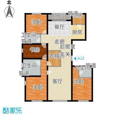 中粮祥云国际生活区222.72㎡C03住宅A户型