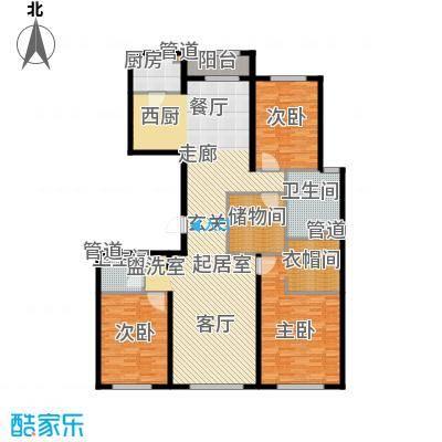 中粮祥云国际生活区189.32㎡C03住宅B户型