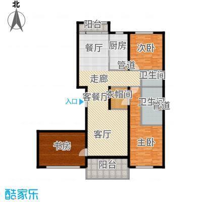 中粮祥云国际生活区172.00㎡A2户型