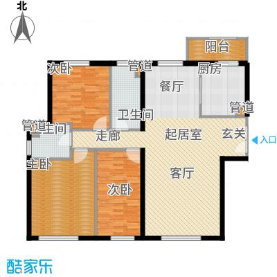 天润香墅湾1号150.00㎡B户型
