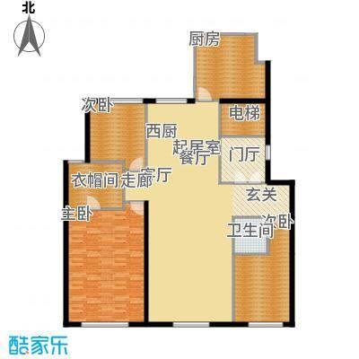 天润香墅湾1号190.00㎡I户型