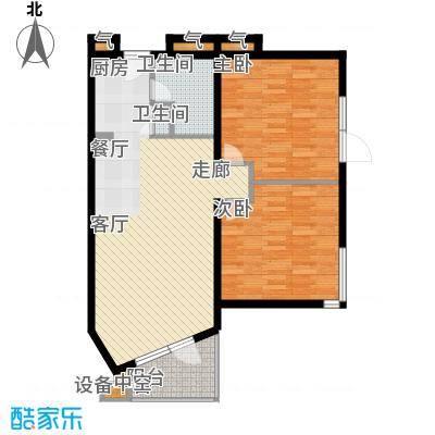 华贸·蔚蓝海岸89.40㎡华贸・蔚蓝海岸E户型