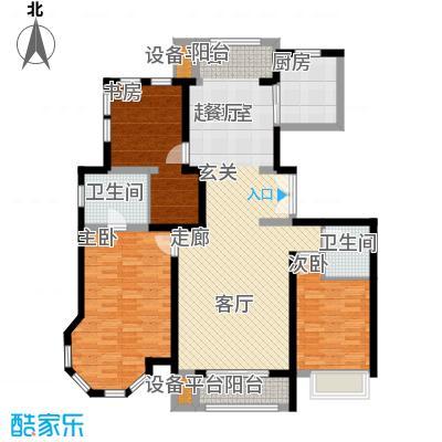 领秀·翡翠山159.00㎡领秀・翡翠山A1A2号楼户型