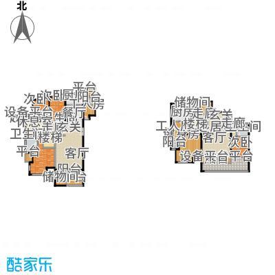 领秀·翡翠山208.00㎡领秀・翡翠山一期10#F1户型