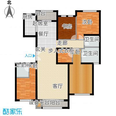 领秀·翡翠山185.00㎡领秀・翡翠山G2A12、A15、A17号楼户型