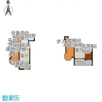领秀·翡翠山137.00㎡领秀・翡翠山一期3#4#D1户型
