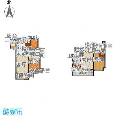 领秀·翡翠山201.00㎡领秀・翡翠山一期10#F2户型