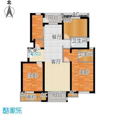 百旺杏林湾145.00㎡一期3居(售罄)户型