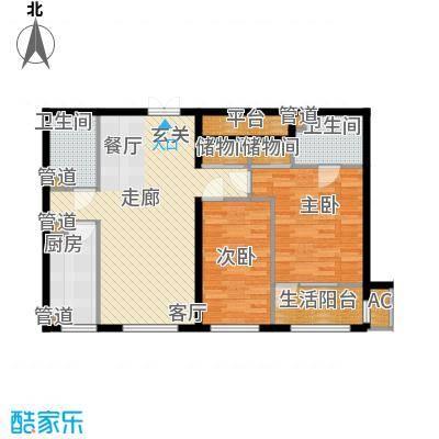 天润福熙大道106.90㎡C5-2-02(售罄)户型
