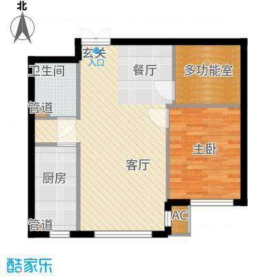 天润福熙大道73.19㎡C8-1-02(售罄)户型