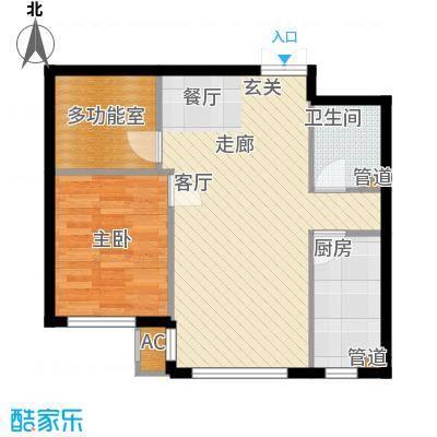 天润福熙大道73.19㎡c7-2-03(售罄)户型