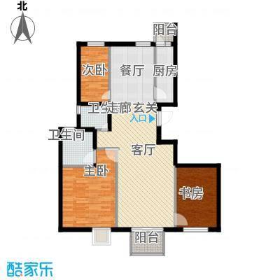 上林溪南区116.00㎡一期30号楼C1(售罄)户型