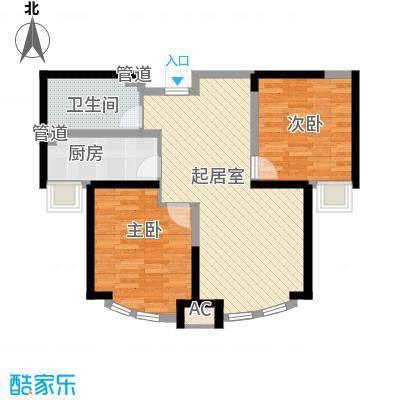 顺义金宝城89.00㎡21#C户型