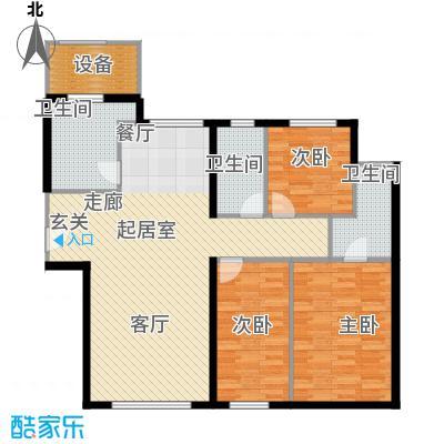 天润香墅湾1号136.00㎡C户型