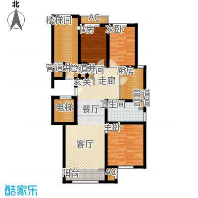 润西山·B组团108.00㎡润西山・B组团C2户型