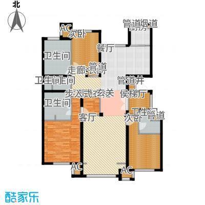 润西山·B组团192.00㎡润西山・B组团A2户型