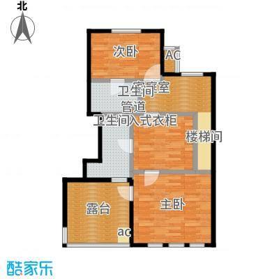 大运河孔雀城花园洋房D二层户型