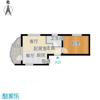 佳兆业东戴河52.00㎡五期A户型
