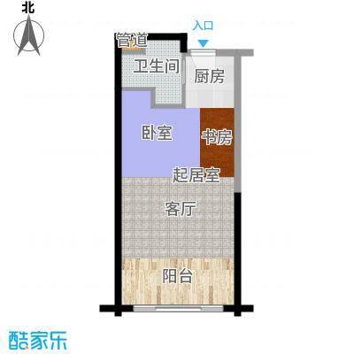 佳兆业东戴河47.10㎡B(售罄)户型