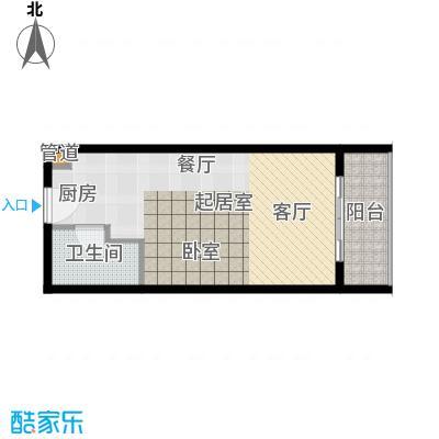 佳兆业东戴河46.00㎡五期C户型