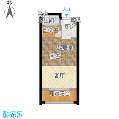 佳兆业东戴河45.00㎡四期A户型