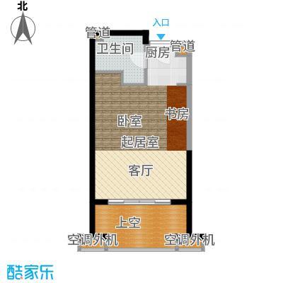 佳兆业东戴河48.00㎡B(售罄)户型