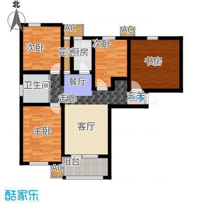 鸿坤·理想湾114.10㎡鸿坤・理想湾G户型