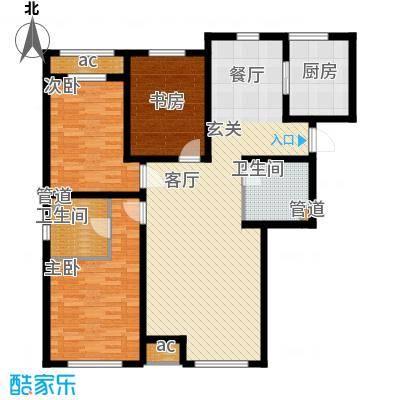 京西·金泰丽湾140.00㎡京西・金泰丽湾3A户型