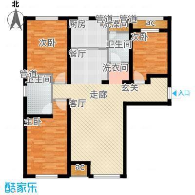 京西·金泰丽湾132.00㎡京西・金泰丽湾3Cg户型