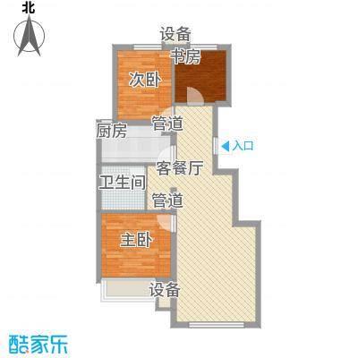 华远·澜悦88.00㎡华远・澜悦一期A户型