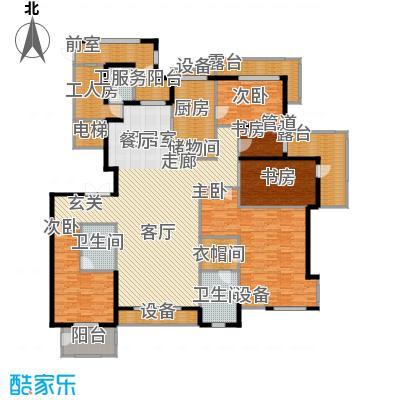 金屋·秦皇半岛251.58㎡金屋・秦皇半岛24#楼A户型
